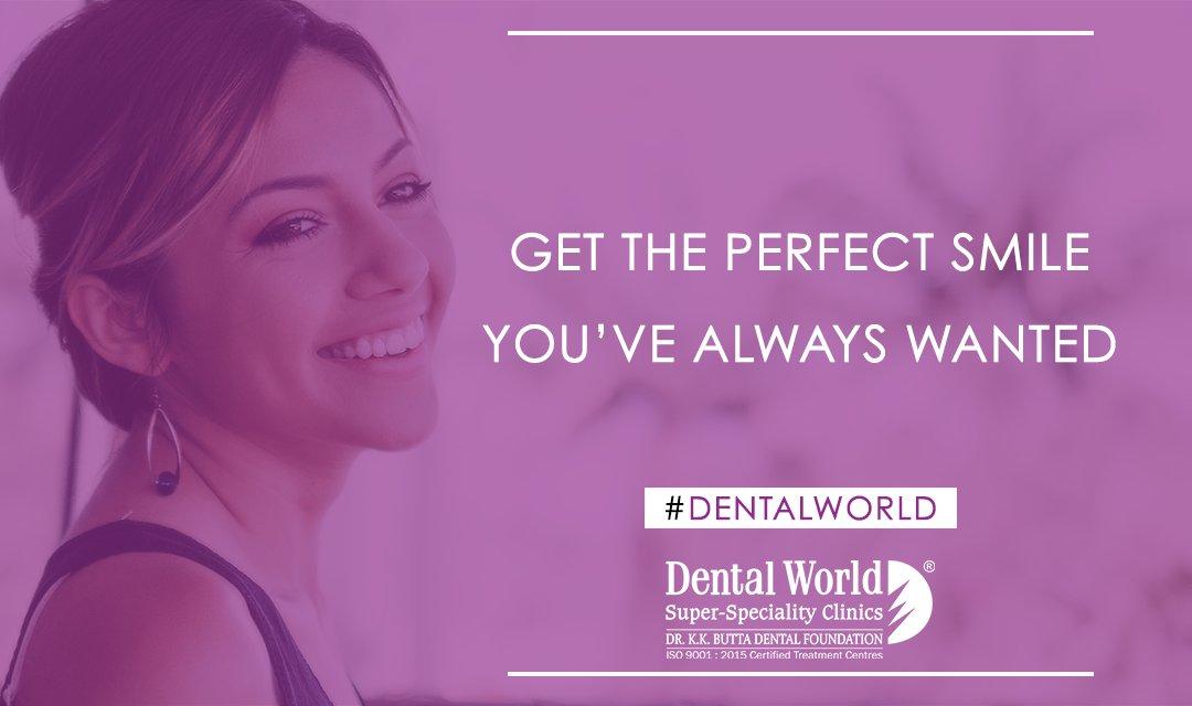 Get the perfect smile you've always wanted at Dental World. #Dentistry #Smile #Dentist #trusttheexperts #bestdentalclinic #DentalWorldpic.twitter.com/RyD1EInBzU
