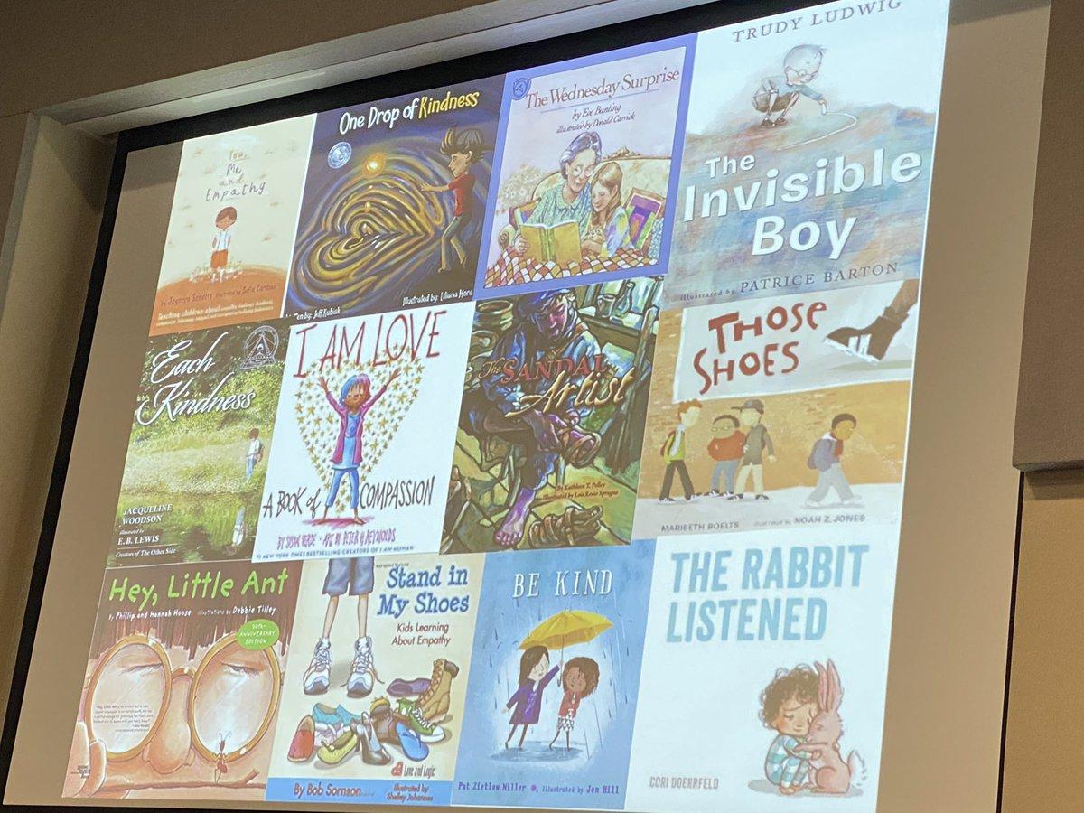 Great kindness books recommended by @BarbaraGruener #WeLeadTX #KidsDeserveIt #SparksInTheDark