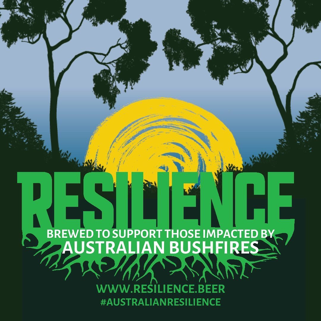 Resilience Beer for Bushfire Relief