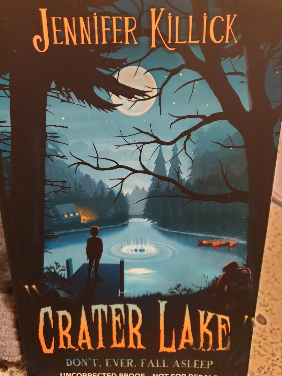 I could not put this down ,despite not wanting this tense, gripping adventure to end. Nail biting and hair raising creepiness from start to finish! Brilliant gang of determined and endearing characters. Fabulous Killick style. LOVED this @JenniferKillick @crashspringwood