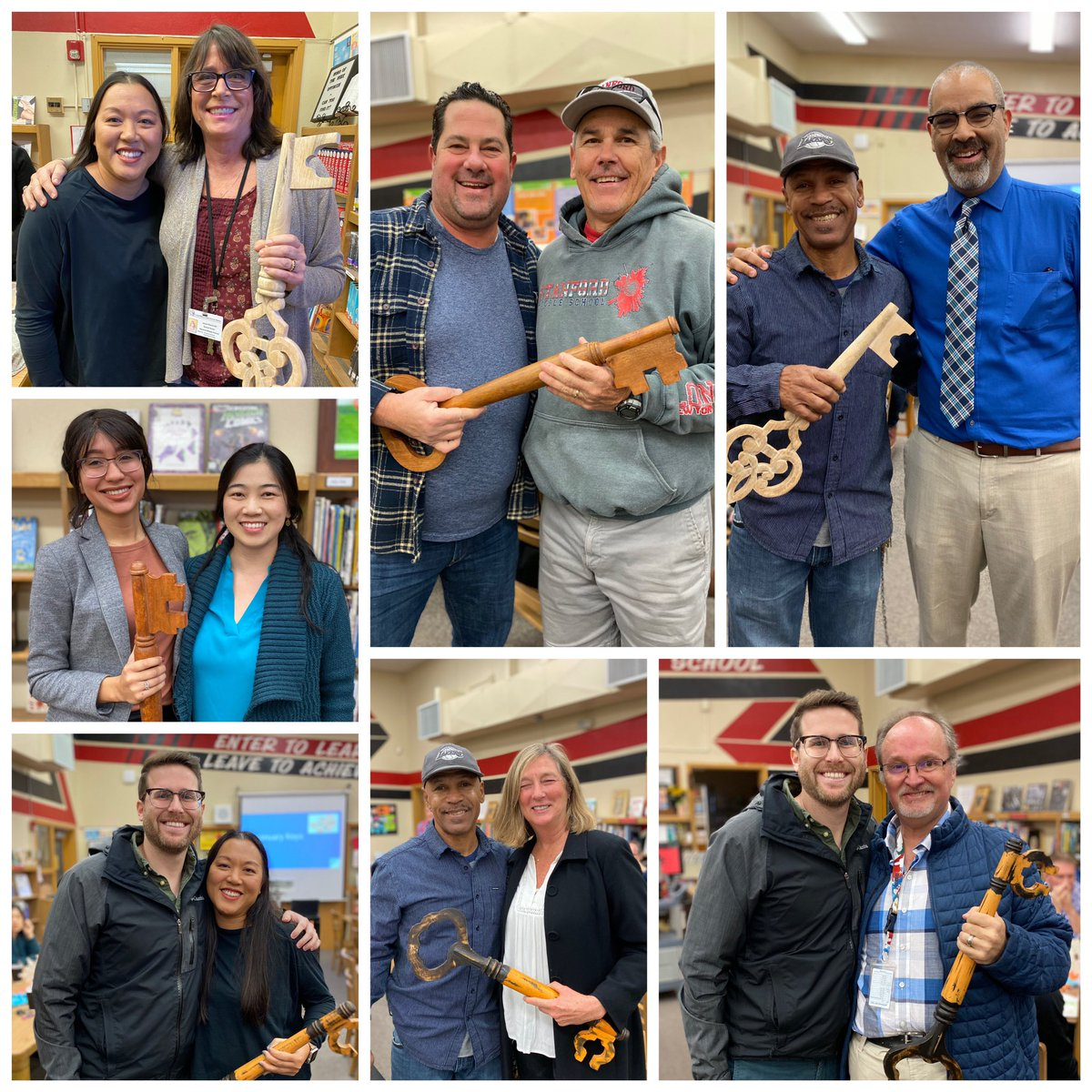 Stanford Key Keepers passed their keys to honor their colleagues this week!  #unlockinglearningthroughrelationships 🔑 #ProudtoBeLBUSD