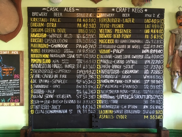 test Twitter Media - Saturday's Beers 😍 #Huddersfield #realale #craftbeer #Tryanuary https://t.co/4lKKuGWyJ2