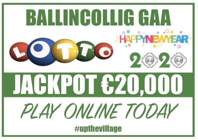 UNBELIEVABLE!! IT'S ALL THE 20'S!! 2020!! €20,000 JACKPOT!! IT COULD BE YOURS!! Don't miss out, PLAY ONLINE NOW by following the link below! #upthevillage  Live Lotto Link https://play.clubforce.com/play_newa.asp?ll_id=1597#Anchor…pic.twitter.com/IZliwXrrGw