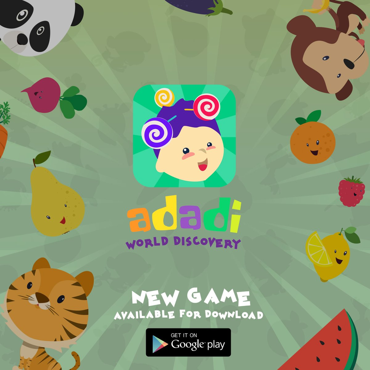 Adadi-World Discovery  Learn fun things with your kids. Available now for download on Google Play. Enjoy and If you love it share the love!  #NewGameApp #MobileGames #NewMobileGame #Games #IndieDeveloper #IndieGameDeveloper #AdadiGameApp #LearningGame #LearningGameApp #FunGames pic.twitter.com/ln4wMEtdPW