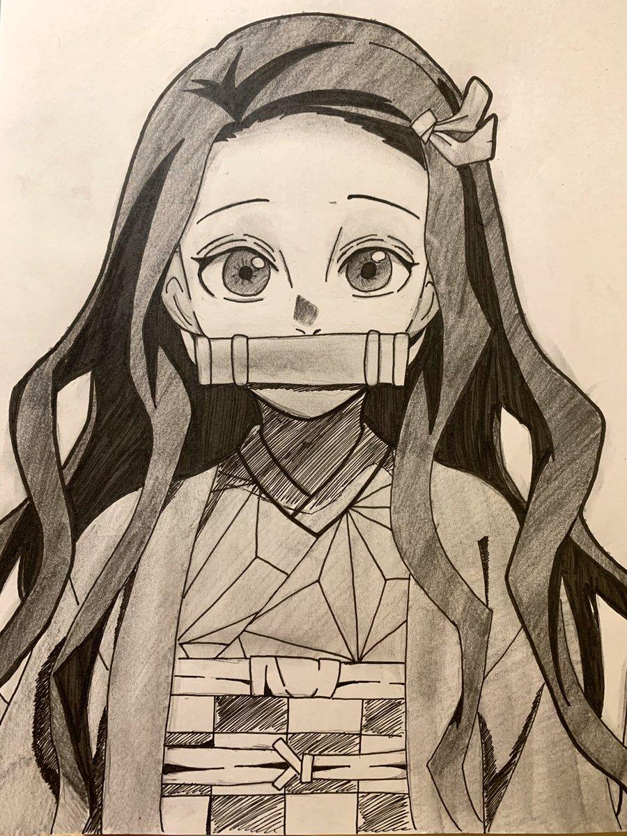 禰 豆子 イラスト