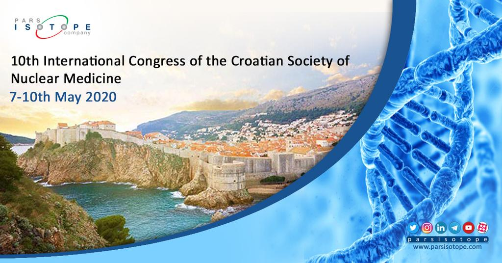 10th International Congress of the Croatian Society of Nuclear Medicine 7-10 May 2020 Vodice, Croatia For more info visit: https://t.co/yBSMoQAqQD https://t.co/8PjFkh0sCf
