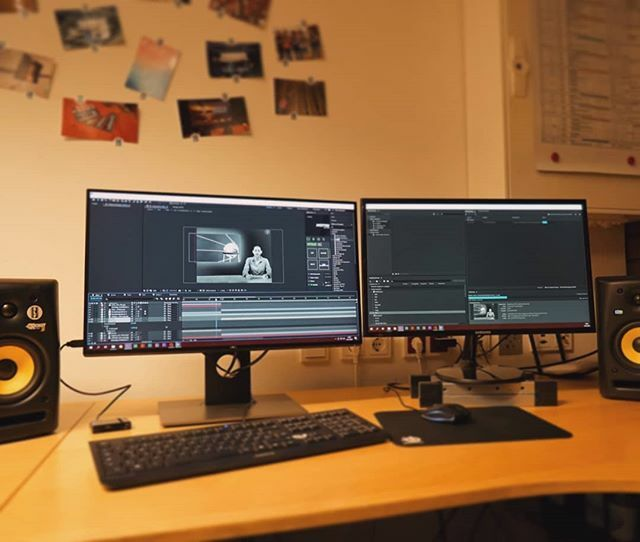Diese Woche haben wir uns mit #Greenscreen beschäftigt  - #filmmaking #cutting #filmemacherde #filmmakerslife #filmmakersworld #bremennord #hb #hbnord #filmemacherhb https://ift.tt/2G2AoxTpic.twitter.com/9BXG5V3i2r