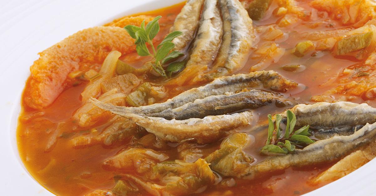 Oliaigua con sardinas  ¿Lo has probado? #GastronomíaMenorca  @TurismoMenorcapic.twitter.com/M3sq6c9AQU