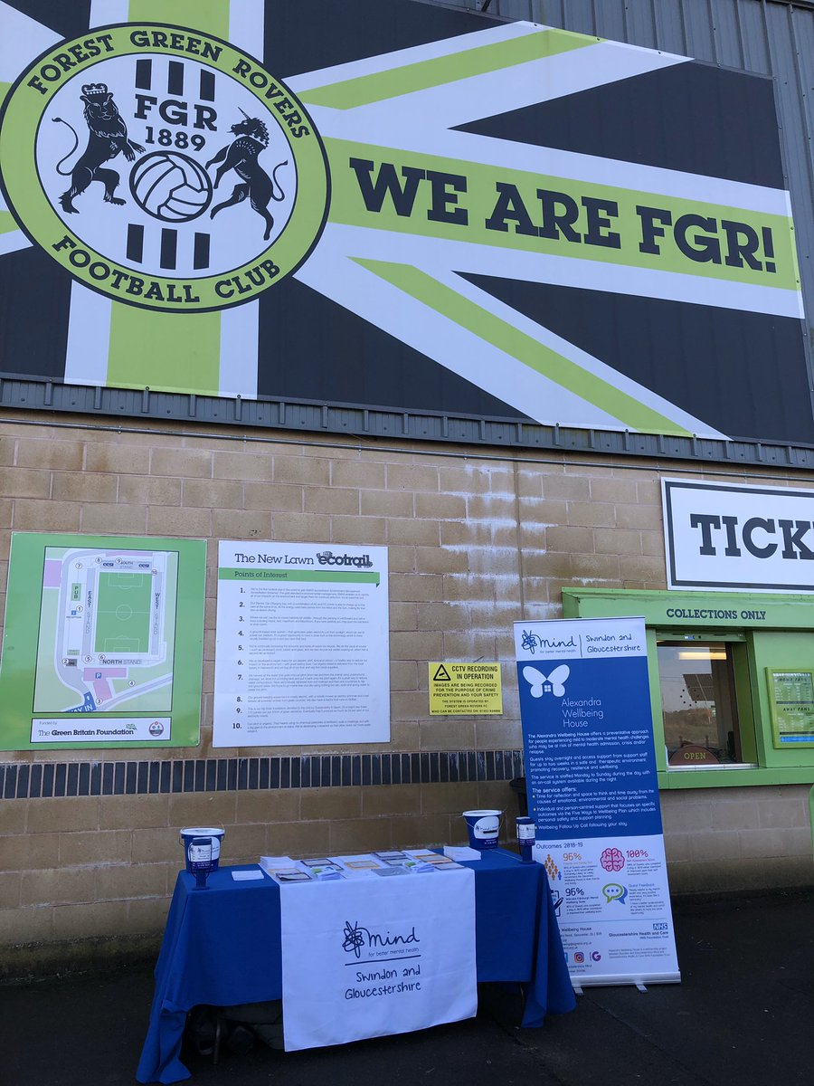 The team have arrived @FGRFC_Official if you are here today come and say hello!