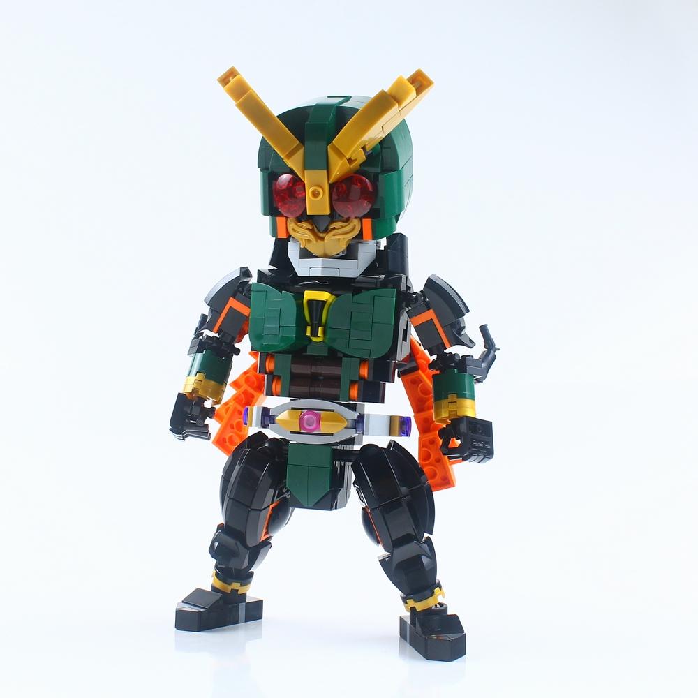 仮面ライダー アナザーアギト : レゴ道
