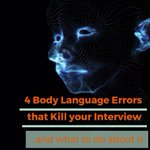 Image for the Tweet beginning: Are body language errors ruining