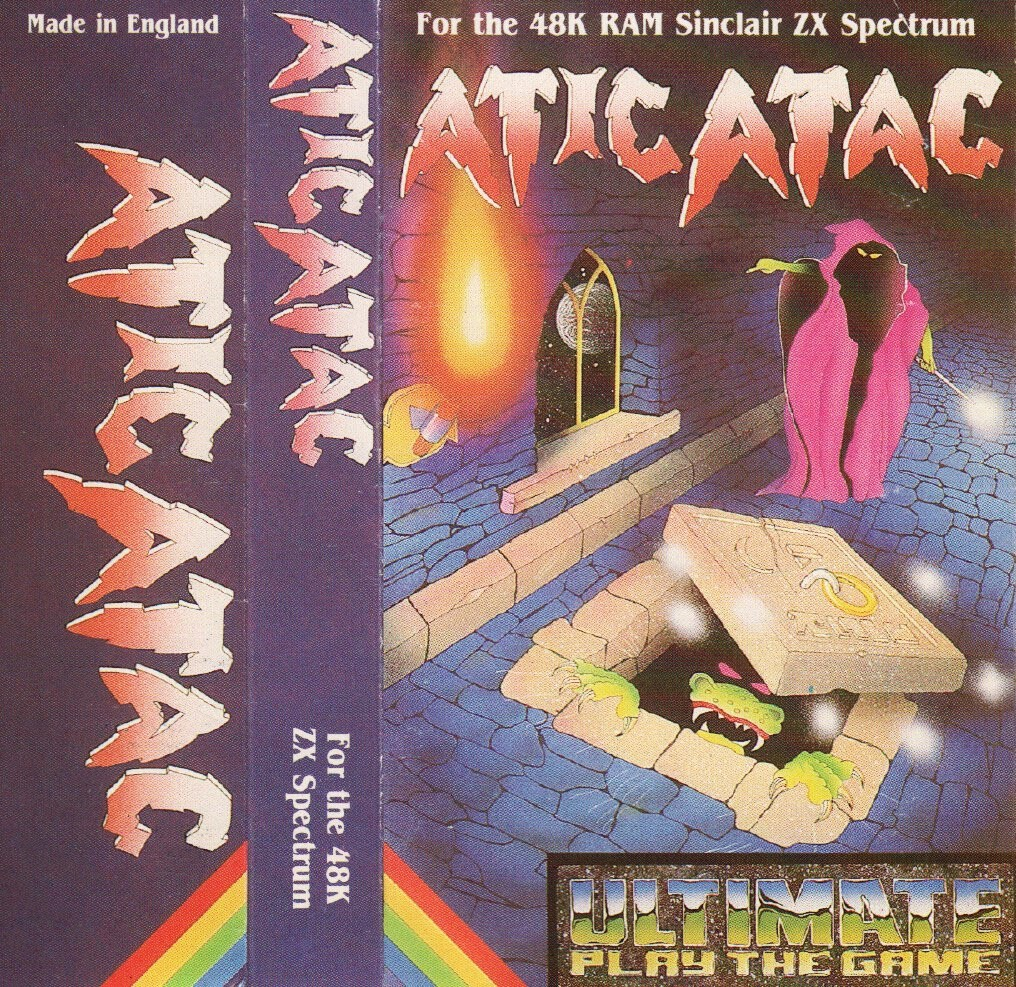 SPECTRUM SATURDAY: ATIC ATAC In 1983 A Wizard, a Knight and a Serf explored a castle in order to find the pieces of a key to escape. A fantastic adventure game from Ultimate Play The Game that also came to the BBC Micro, did you ever escape? #retrogaming #ZXSpectrum #80s #gaming