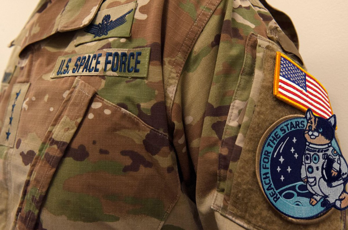 Select your favorite #SpaceForce GMC morale patch