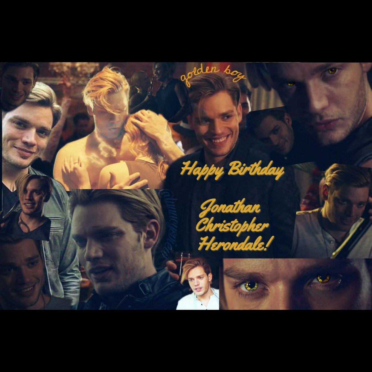 Happy Birthday to the golden boy Jonathan Christopher Herondale  Portrayed by #DominicSherwood  #HappyBirthdayJonathanChristopherHerondale #HappyBirthdayJace  #Shadowhunters #ShadowhuntersLegacy<br>http://pic.twitter.com/SIjxggkKzR