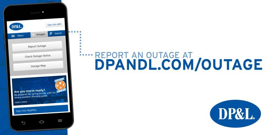 on dpl power outage map