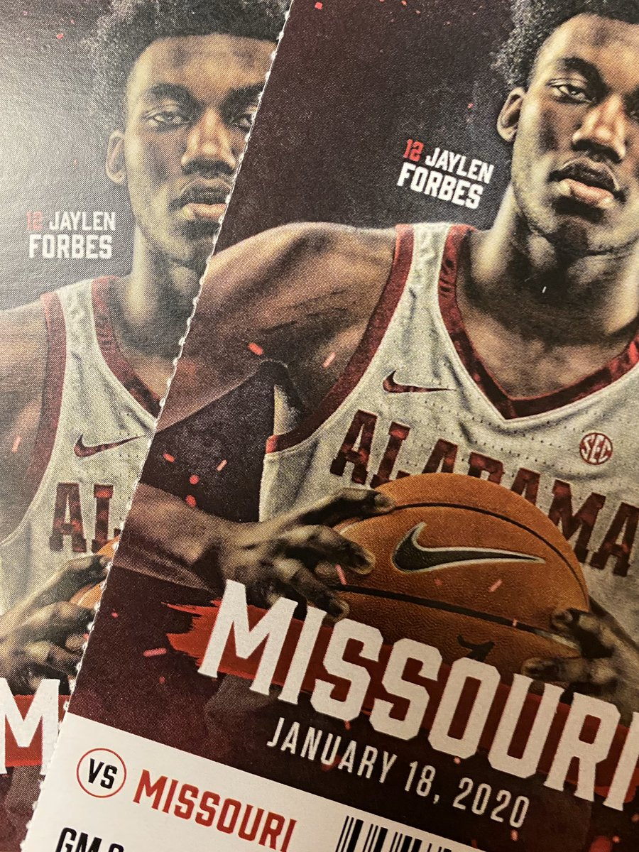 """GIVEAWAY! I will randomly select 4 people by 11:30 am & they will win 2 tix for 2:30 pm game today who tweet - """"Hey @Greg_Byrne, I want to be at Coleman today to see some #BallAndOats"""" Only respond if you can attend. GO! #RollTide 🏀🐘"""