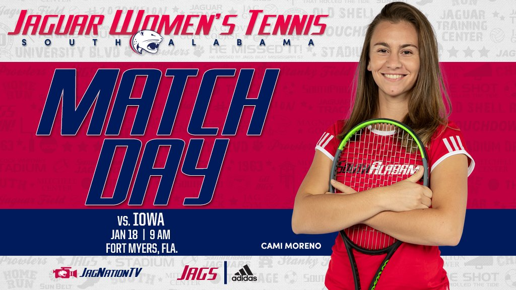 The Jaguars take on the Hawkeyes in Fort Myers today. #JagNation