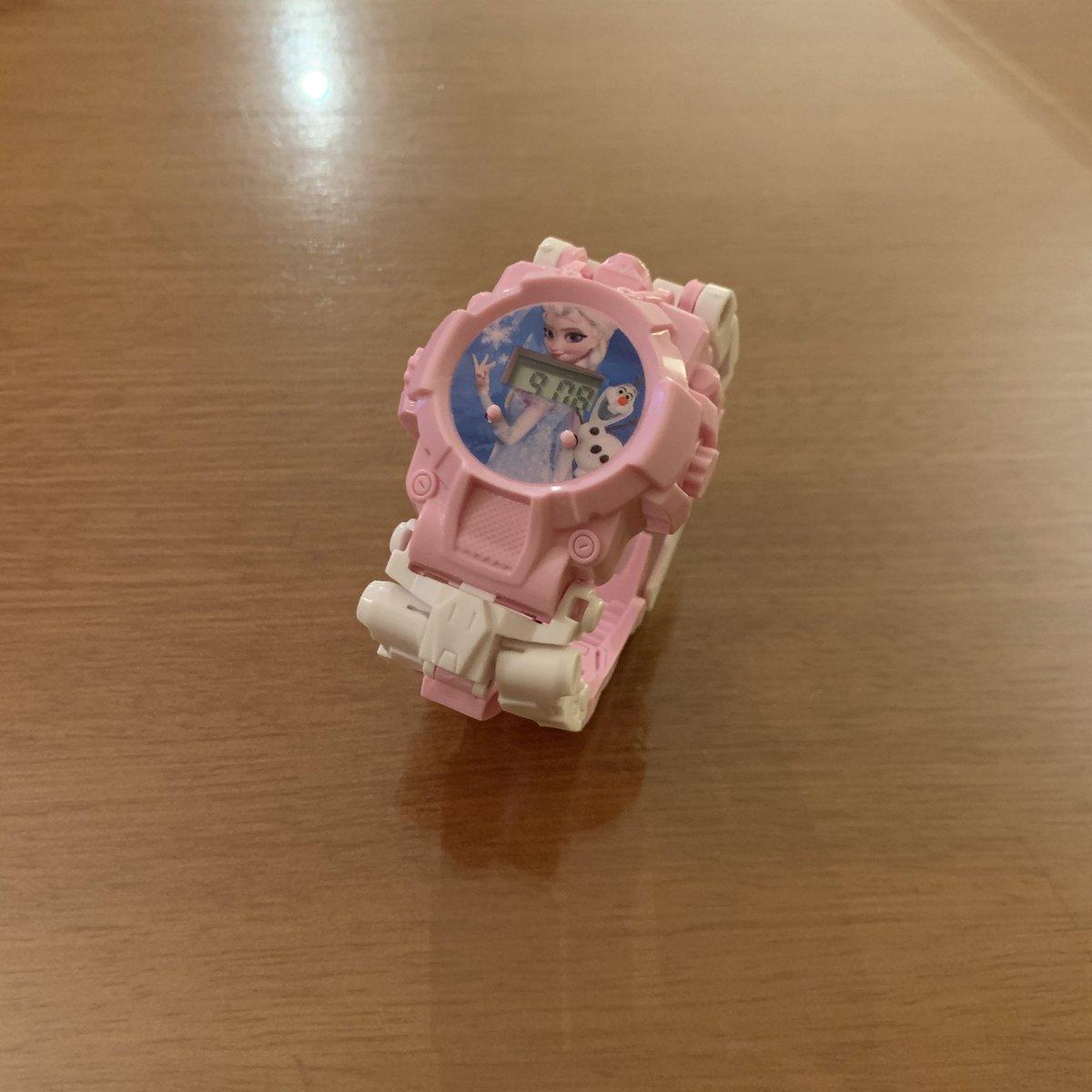 アナ雪の腕時計を入手しました