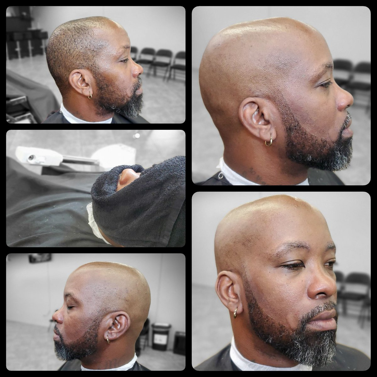 @Tsmackthebarber and @AndisCompany clippers present... The Vision-The Process-The Results...B4 and After.. #youvebeensmacked #azbarber #beard #bearded #beardgang @AndisCoUK @Best_Barbers @BarberNews @Barbershopconne @BarbersincTV @BarberSalonTalk @barbersonlymag @Barbers4Barberspic.twitter.com/K11a9Z1E6i
