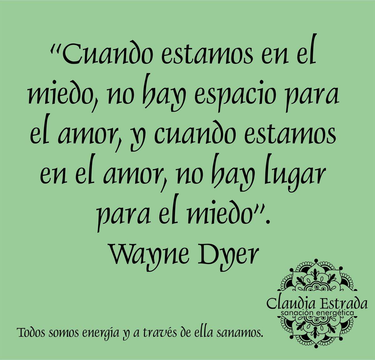 """Feliz Dia!!! …https://claudiaestrada-sanacionespiritual.blogspot.com/ """"Es tiempo de Sanar"""" #FelizDia #EstiempodeSanar #FrasedelDia #WayneDyer #FelizSabado #Sanacion #Claudiamez #Frases #FrasesCelebres #FrasesMotivadoras pic.twitter.com/yn3FYypGZj"""