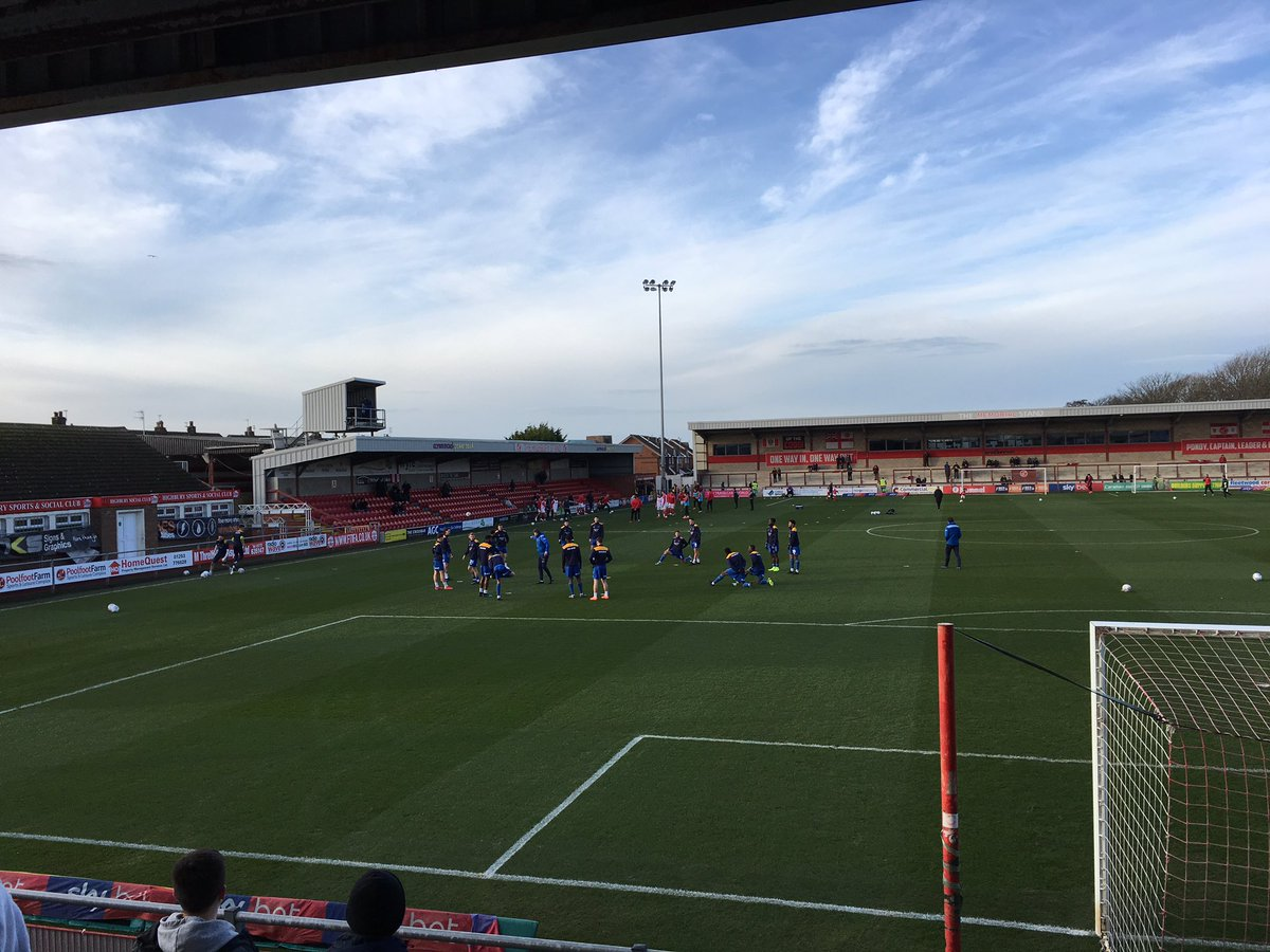 Fleetwood away today. Back to the league and hoping for the same level of performance as Tuesday!! Come on you shrews  #salop <br>http://pic.twitter.com/UVKr7vjZnr
