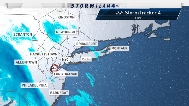 Good morning, friends! Here's a look at StormTracker 4 before you start your day. #weekend #NBC4NY
