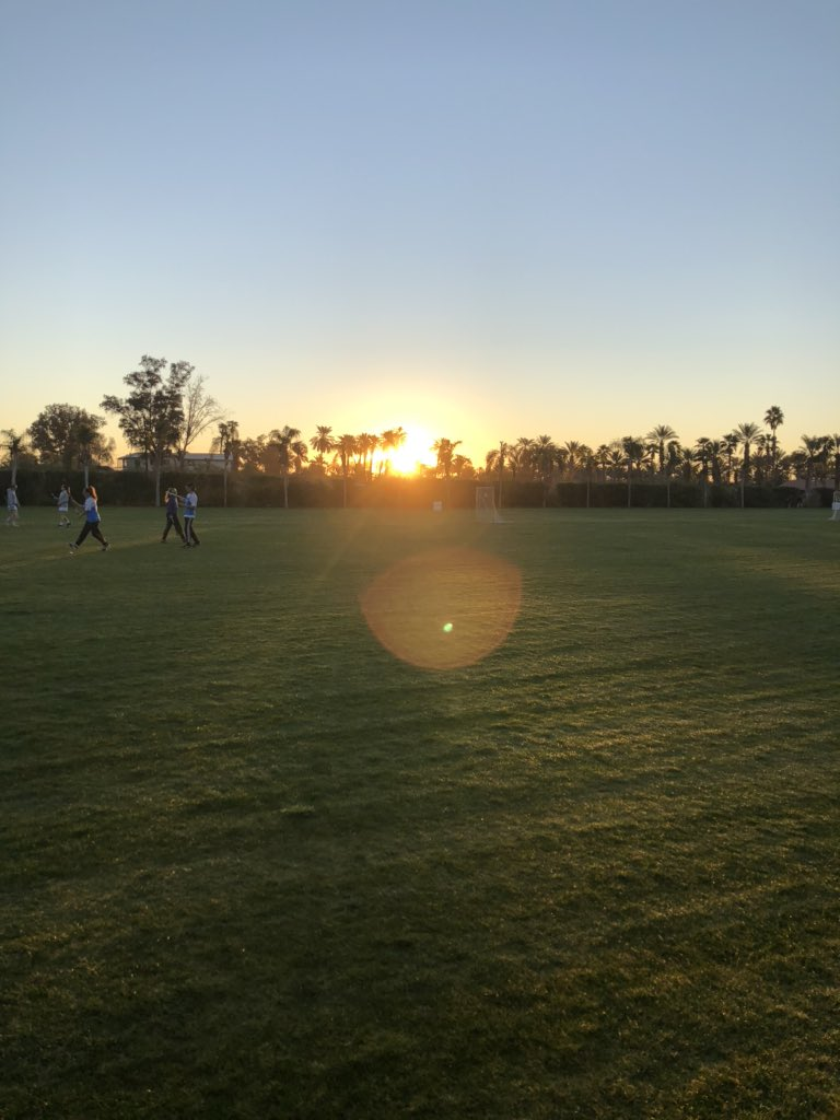 #SelfCareSaturday Sunrise at Sandstorm Lacrosse Tourney💕 Ready for a weekend of fun! #proudtobeLBUSD