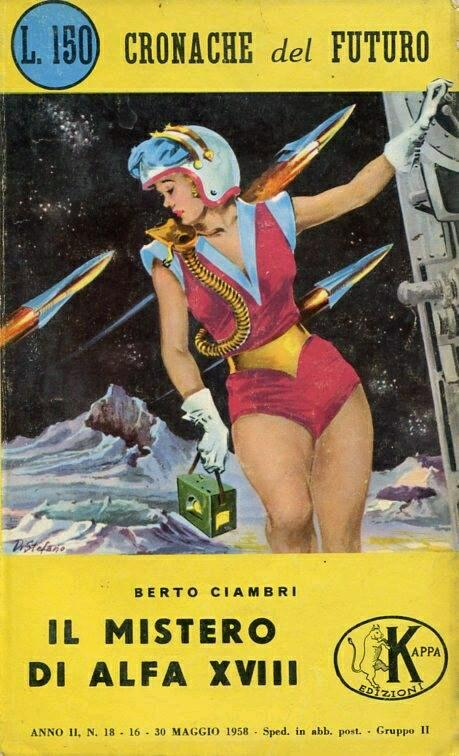 Italian #SpaceForce is now hiring! If YOU have The Right Stuff* you too can join the FSDDS**. Vacancies exist for all three branches of the service*** - apply at your nearest spaceport. (*microgravity lingerie) (**Forza Spaziale Di Donne Sexy) (***Bionda, Bruna e Rossa)