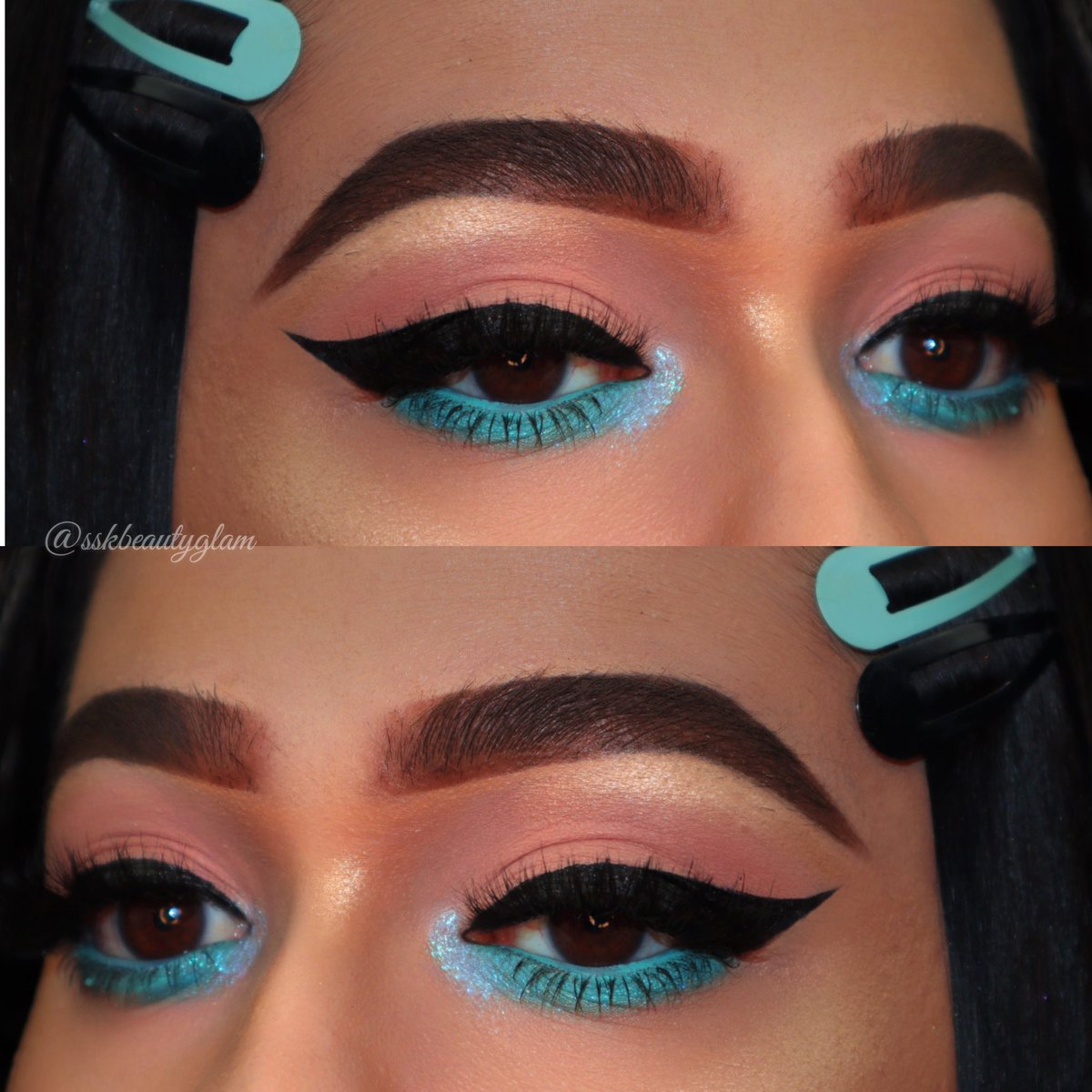 @ABHcosmetics Dipbrow Pomade, @ABHcosmetics Dipbrow Gel, @lagirlusa Shockwave neon eyeliner, @lagirlusa Glitterholic Topper #morphebabe #abhbrows #AnastasiaBeverlyHills #THELIST #lagirlcosmetics #glitter #makeuplooks #makeupaddict #makeuplover #makeup #norvina #mua #bloggerspic.twitter.com/tneukIJFfQ