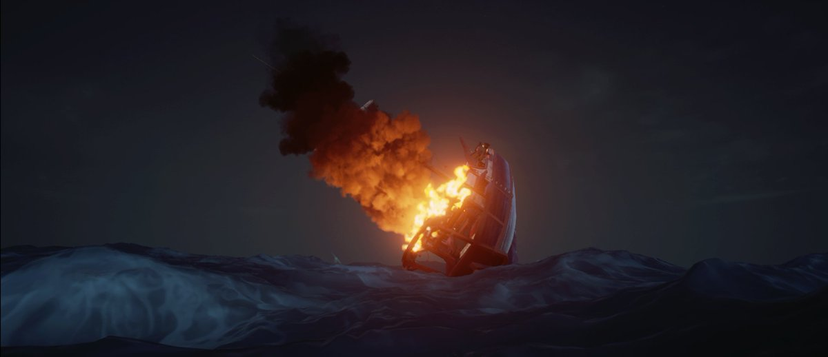 When you don't want to fly nor sail the normal way.... #sotshot #SeaOfThieves