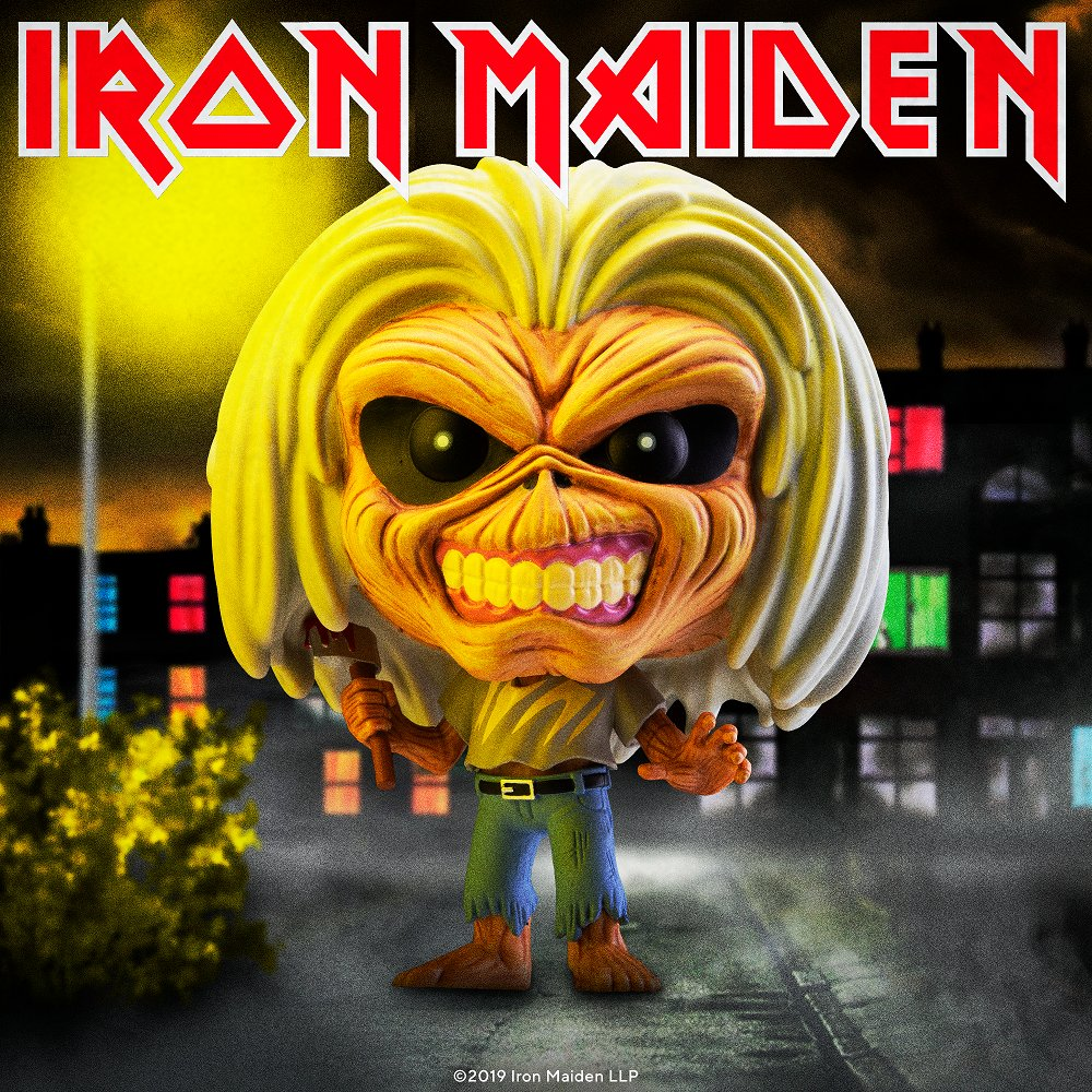 Killers was the second album from Iron Maiden. What was the name of their debut album? #IronMaiden