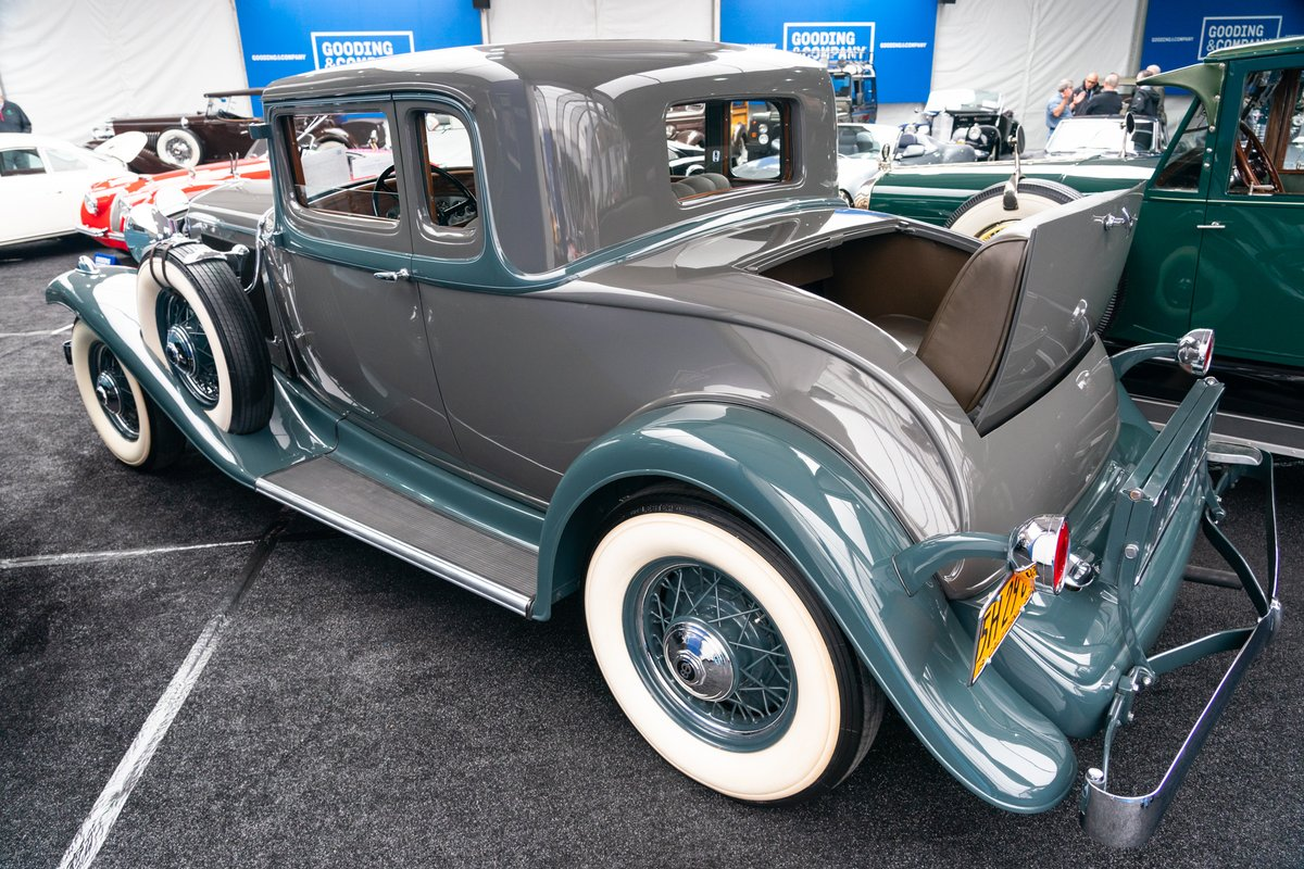 "Gooding & Company on Twitter: ""This 1932 #Studebaker President State Coupe  - a true icon! - sells for an impressive $156,800. We hope the new owner  enjoys it thoroughly! #goodingscottsdale… https://t.co/Xaao9H4hdo"""