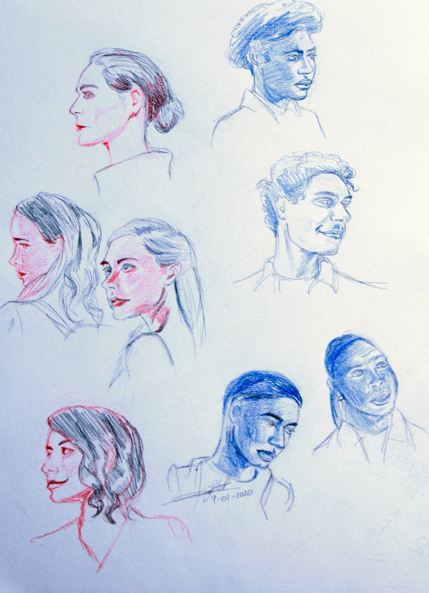 After all the mess with #Legacies, I just wanted to post my studies from some characters. I forgot to put Jed :(( #hopemikaelson #josiesaltzman #lizziesaltzman #penelopepark #miltongreasley #landonkirby #rafaelwaithe #kalebhawkinspic.twitter.com/NffpdQ1Lpb