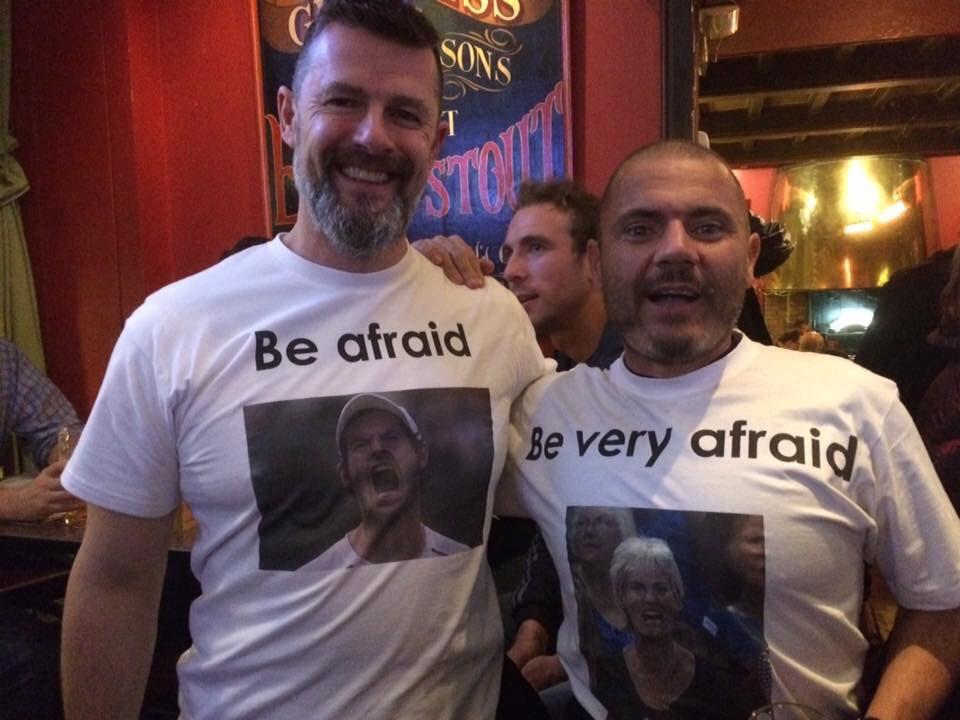 This will always be one of my favourite photos. Scottish fans. Scottish humour. 📷@KiltsOnTour