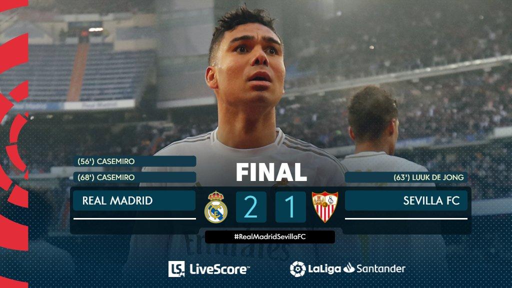Real Madrid-FC Séville