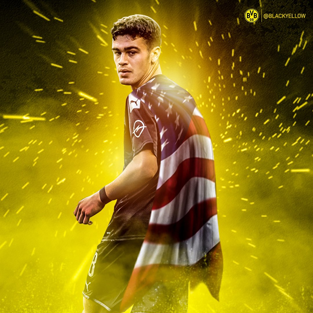 The youngest American to ever appear in the Bundesliga   Remember the name
