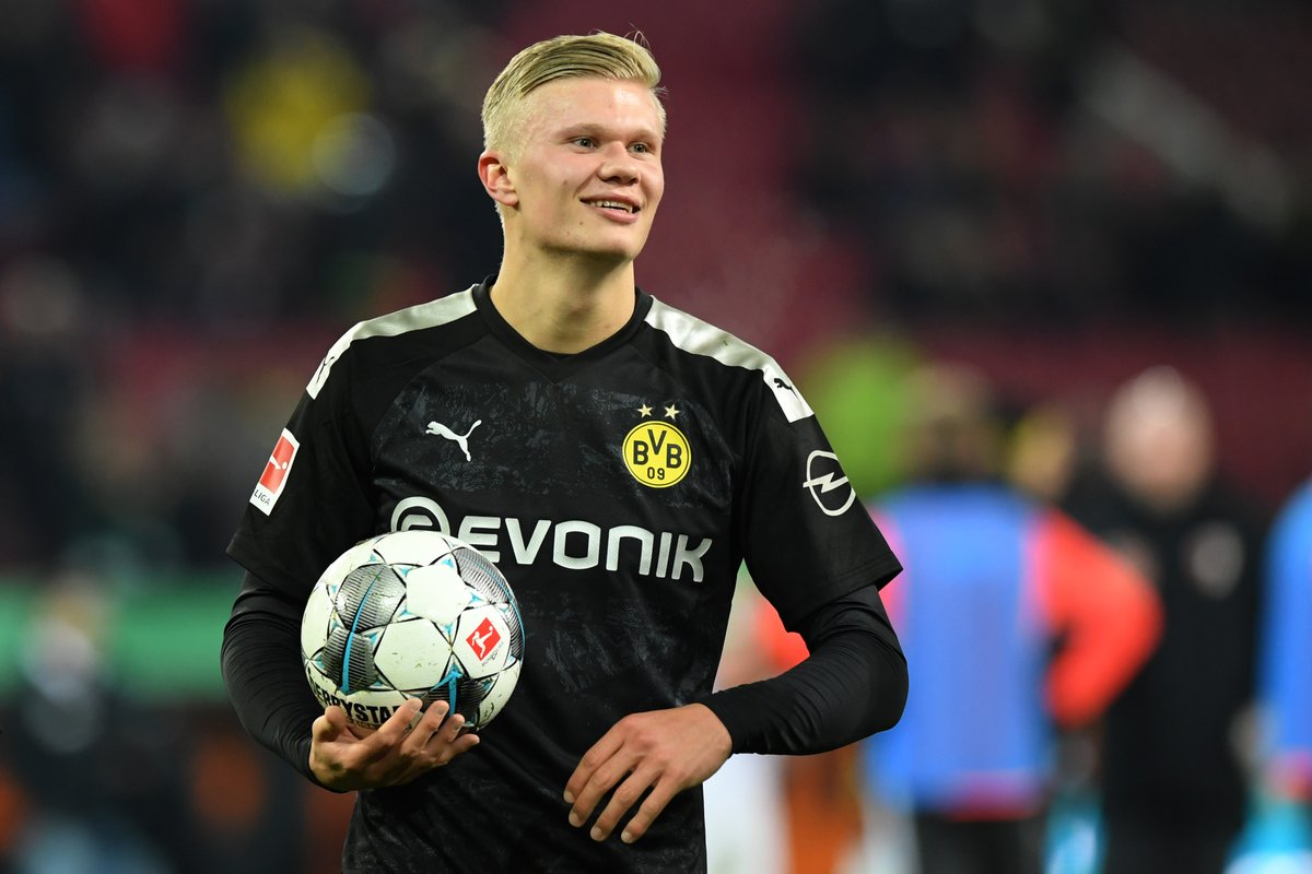 First 23 minutes as a Dortmund player:   How good is Erling Braut Haaland going to be?!   #UCL
