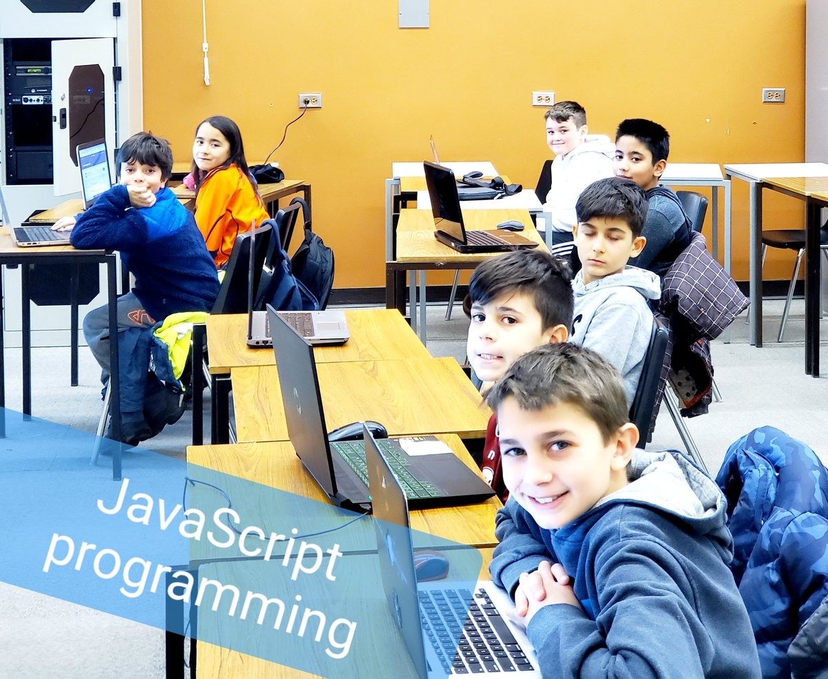 Kids learning programming #JavaScript and #animation