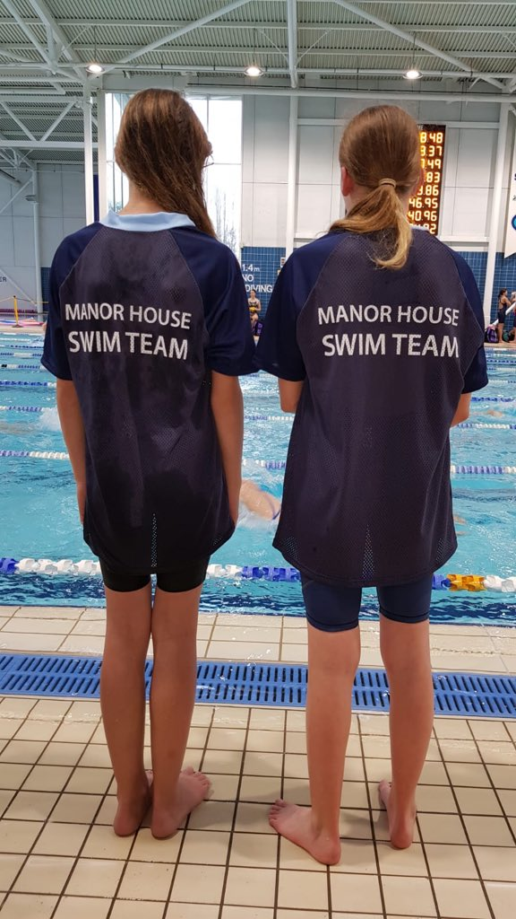 Looking good poolside at the Surrey Schs Gala tonight. Swim with power and determination girls. We are proud of you.