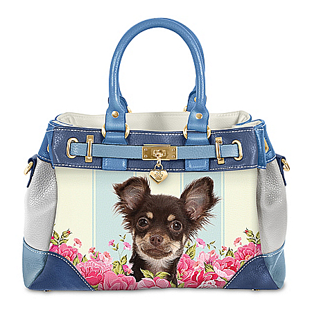 Playful Pup Chihuahua Handbag With Pawprint Charm   Playful Pup Chihuahua Women's Fashion Handbag With Heart-Shaped Paw Print Charm - From the moment you saw the tilt of the head and those loving eyes, your Chihuahua captures your heart forever! Now, you can carry your l... pic.twitter.com/ZCdc6igaGW