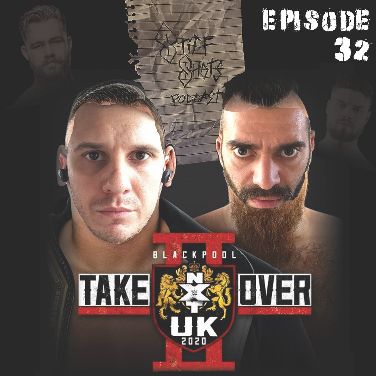 """New episode by @iHeartPodcasts """"best new wrestling podcast of 2019"""" award winners @StiffShotsPod is up on all streaming platforms as we discuss the greatness that was @NXTUK takeover blackpool 2 the new batch"""
