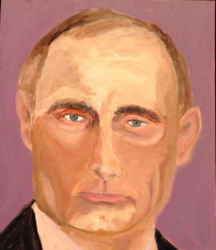 #tbt George W. Bush's painting of Vladimir Putin <br>http://pic.twitter.com/Gue0Jqys1X