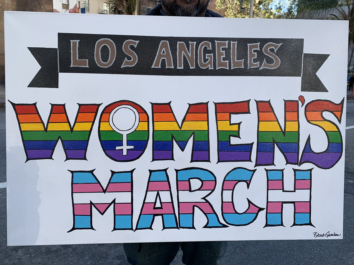 What a beautiful day for @womensmarch in Los Angeles. #EqualityCantWait #EqualRightsAmendment #EqualityAct #WomensMarch<br>http://pic.twitter.com/ypMCNbtgre