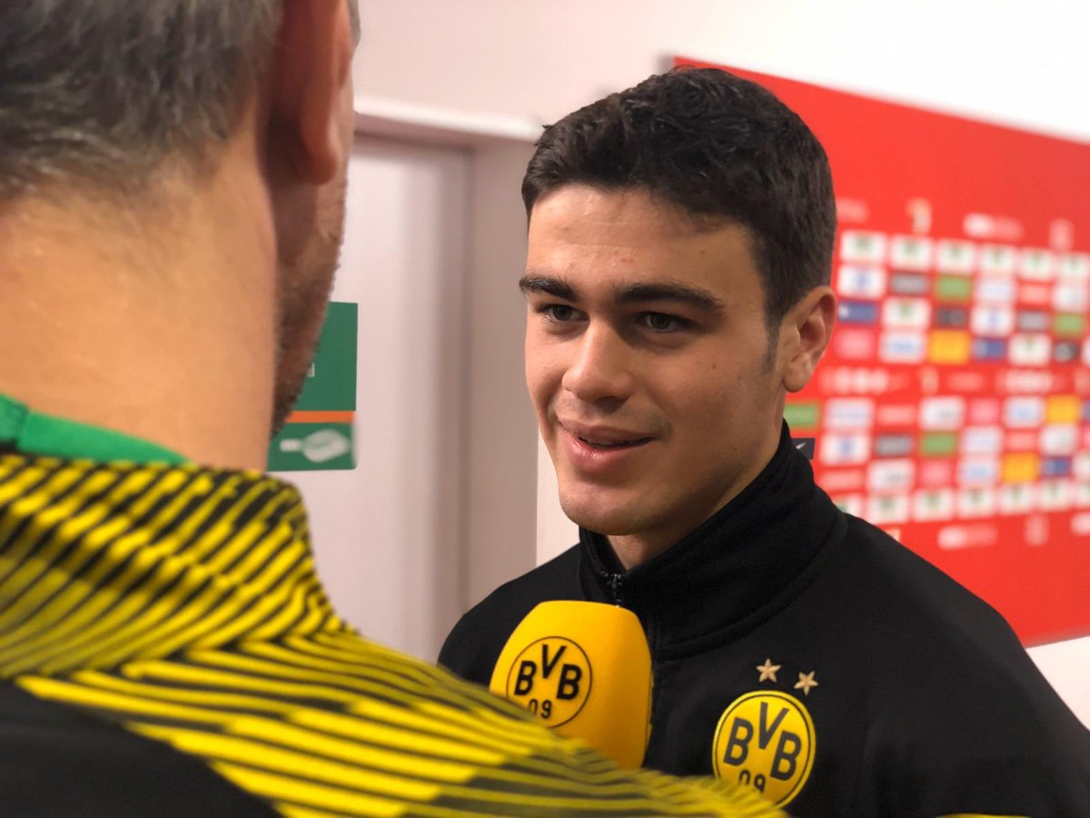 """Reyna postgame presser:   """"A dream came true today, it was a great game for us. When the coach called my name I was so excited. I was nervous but the guys made me feel comfortable."""""""