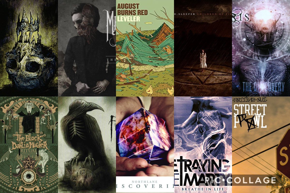 Top 10 Albums of the Last 20 Years! 2011 Edition!  This year features albums from The Devil Wears Prada, Memphis May Fire, August Burns Red, Oh Sleeper, Born of Osiris, The Black Dahlia Murder, In Flames, Northlane, Betraying the Martyrs, and Rotting Out! <br>http://pic.twitter.com/ZaRytCQFR4