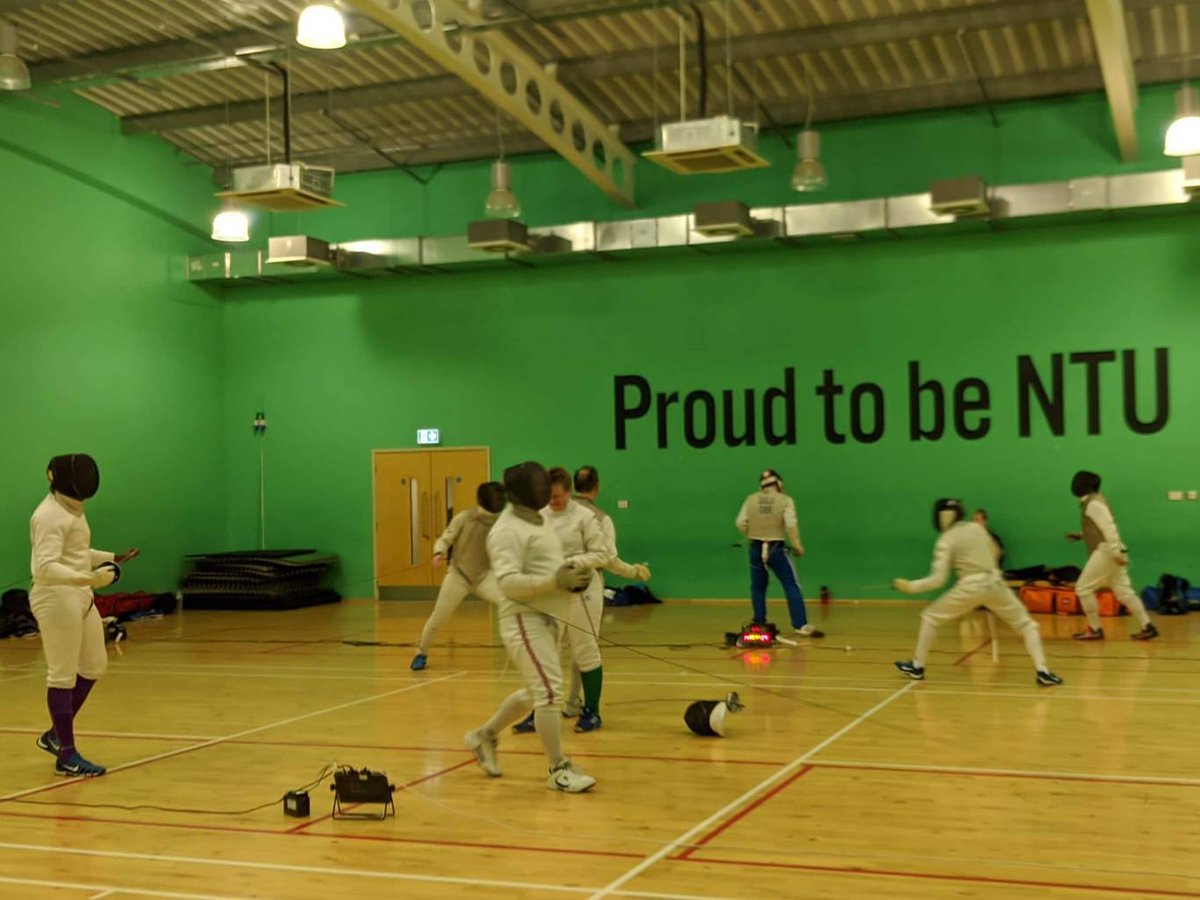 Some of our members had a busy day at regional training today. Don't forget the region puts them on almost monthly. Speak to one of the coaches to find out when the next one is. #fencing #fencingclub #eastmidlands #Nottingham #foil #epee #sabre #saber #escrimepic.twitter.com/4nwej6btgO