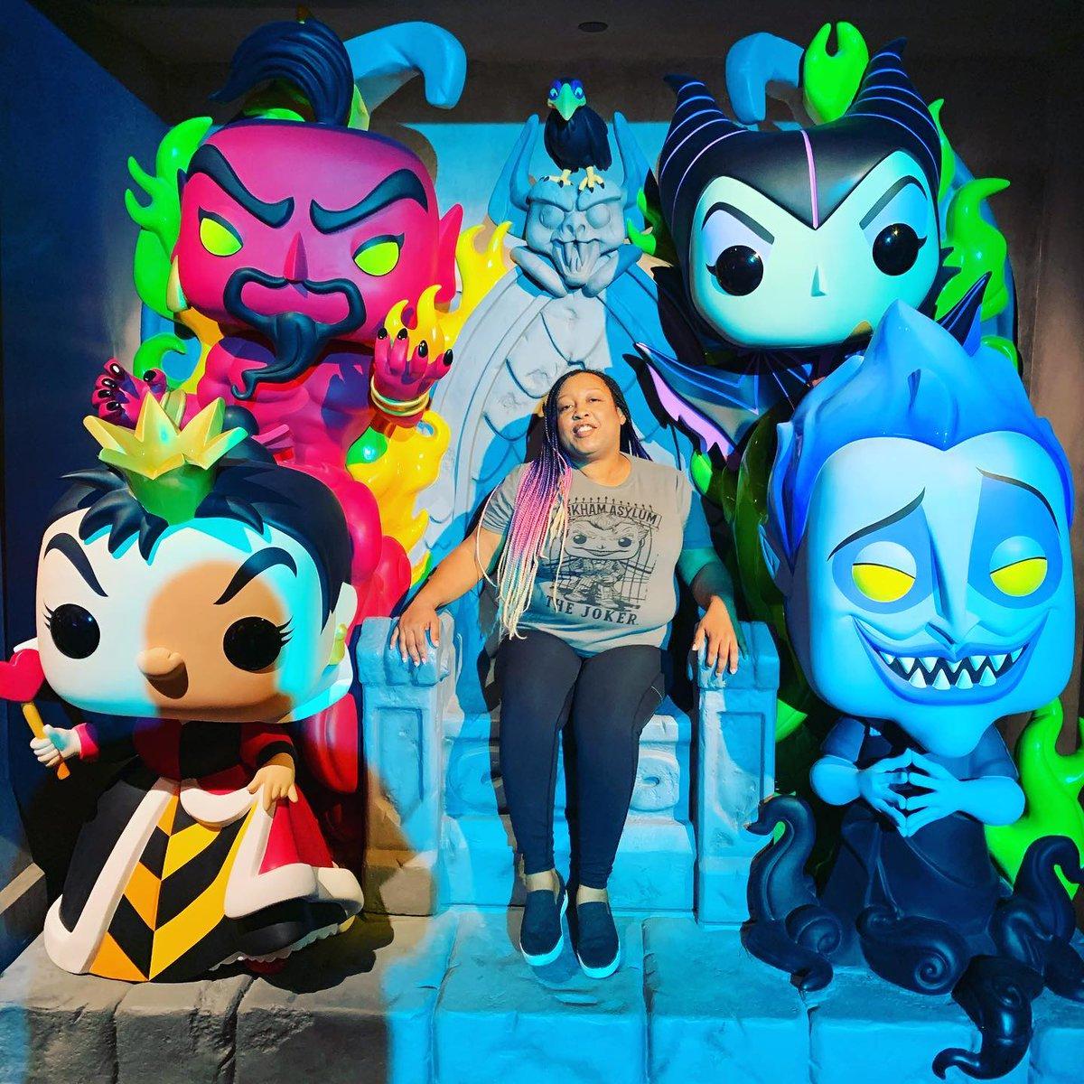 Heading to Funko Hollywood? Make sure to take a photo on the Disney Villains throne! #FunkoHollywood