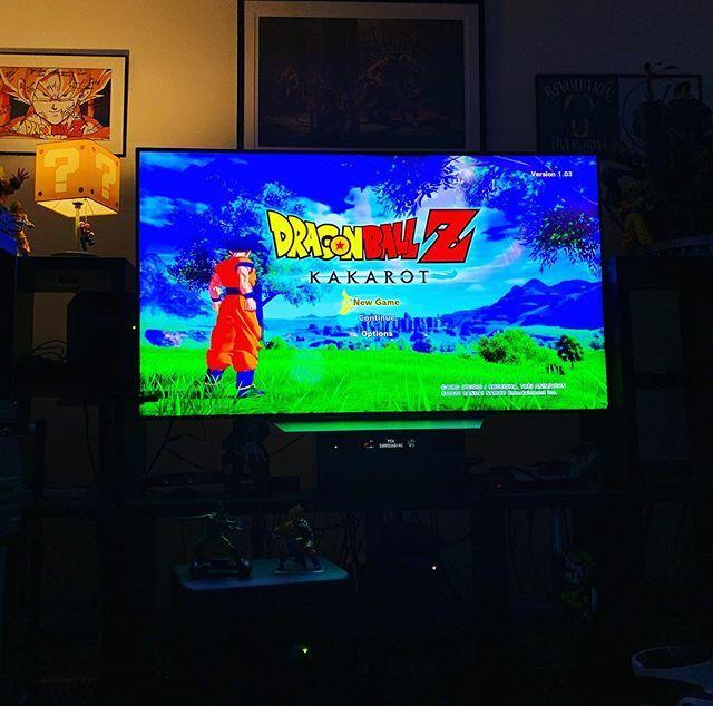Starting Dragon Ball Z Kakarot. #dragonballz #dragonballzkakarot #bandainamco #playstation #playstation4 #saiyan #supersaiyan #videogames #dragonball https://ift.tt/2sACguEpic.twitter.com/LKkHStO6LX
