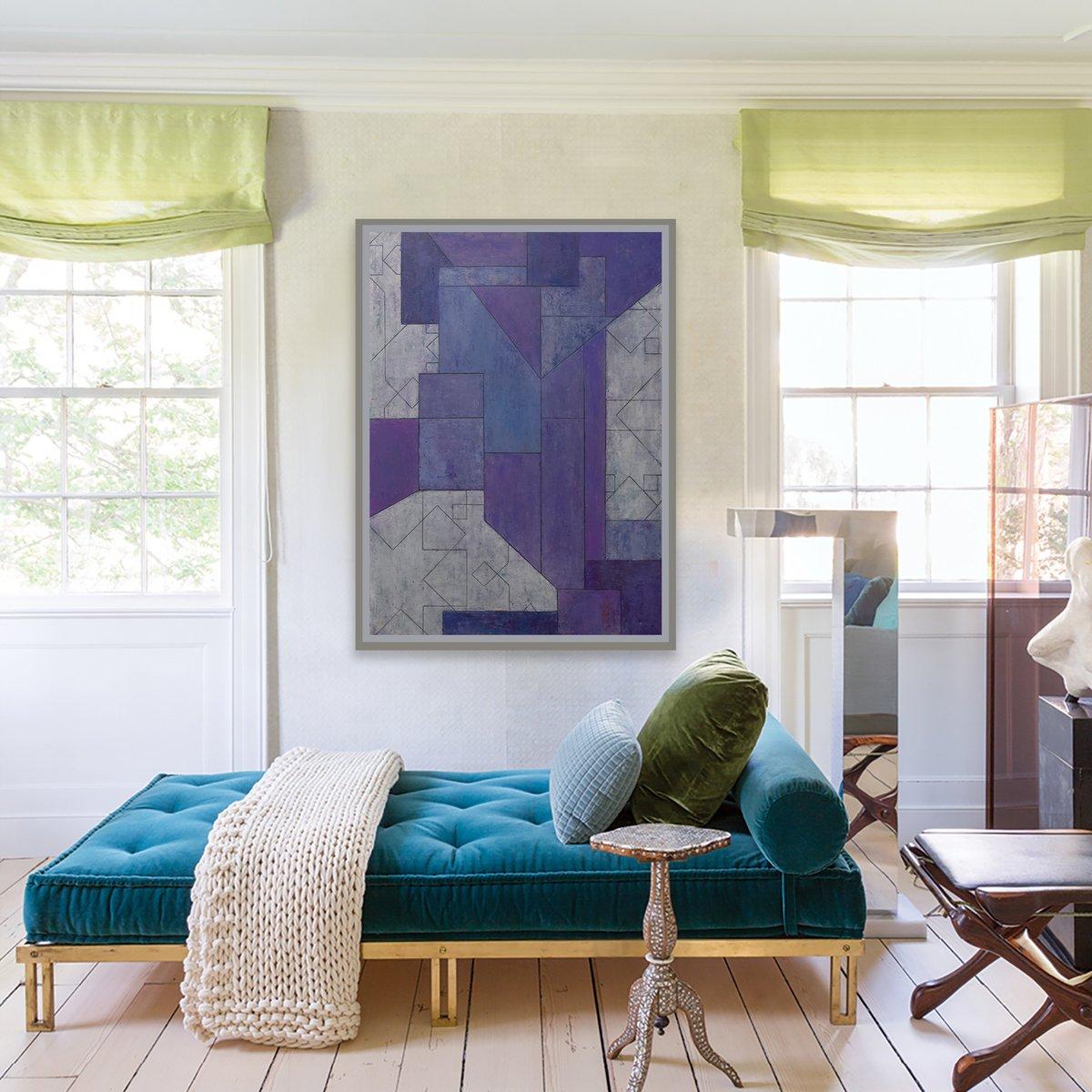 purple haze  http://bit.ly/1QwcJpP   #abstract  #interior design #geometric #fine art  #midcenturymodernpic.twitter.com/f0iy6Ly2tR
