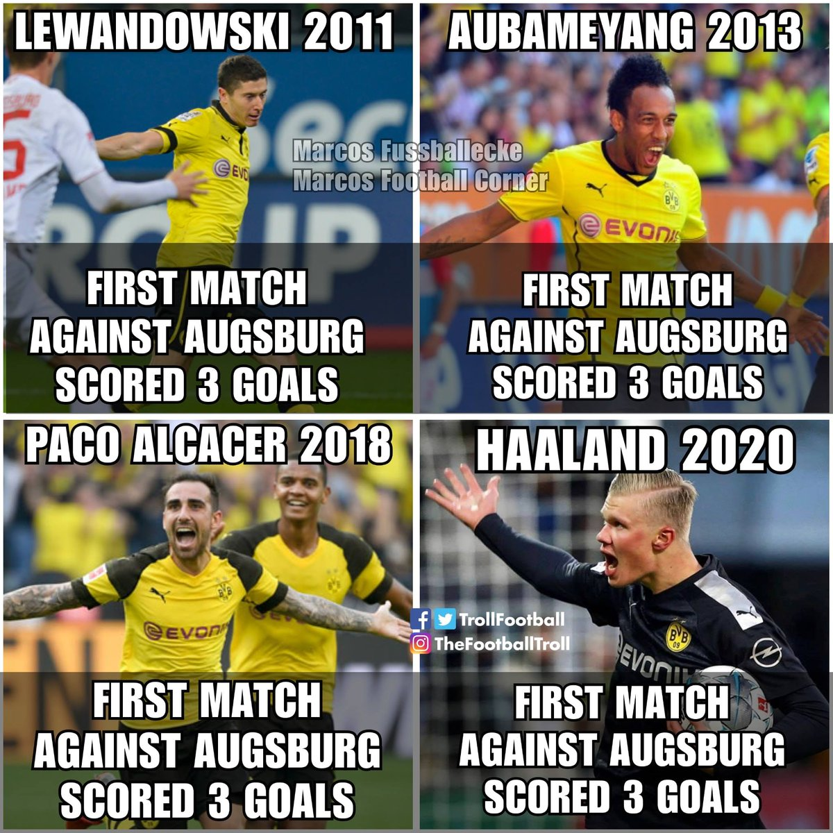 Replying to @TrollFootball: Augsburg: Am I a joke to you?